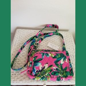 Vera Bradley Tropical Paradise Little Hipster NWT